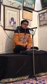 Shehroze Hussain reciting marsiya @ Imam bargah Darbar e Hussain basilsila chelum Imam Hassan(A.S) Mujtaba
