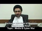 Exclusive Interview of Moulana Syed Shahenshah Hussain Naqvi