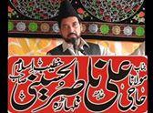 Today is the majlis of Syed Muzamil Hussain Naqvi at 4 pm Aza Khana  Pandot Street. Krishna Nagar , Lahore. Recited by Allama Nasir Hussain Talhatra.