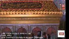 LIVE FROM ROZA E IMAM ALI AS