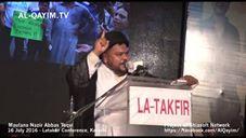 Speech by Maulana Nazir Abbas Taqvi