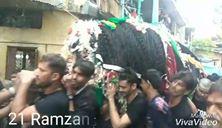 Shahadat Imam Ali (A.S) Procession - Mumbai, India