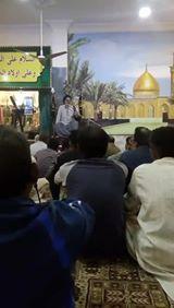 Live - Majlis Shahadat Bibi Fatima (S.A) - Imam Bargah AleyMohammed North Karachi,  Pakistan