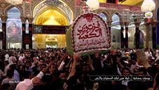 Taboot of Imam Ali (A.S) Inside The Shrine of Imam Hussain (A.S)
