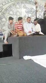 Live Majlis ImamBargah Shauhda Karbala Incholi Karachi .. Marsya khuwan Mansoor Zaidi
