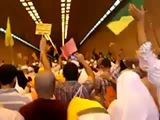 The video from MINA. This is inside the tunnel and all the shia are screaming LABAYKA YA HUSSIAN - LABAYKA YA HUSSAIN. Seriously made me have goosebumps, this is us Shiat Ameer al Momeneen we never give up we will scream in one voice