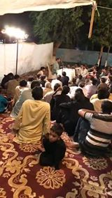 MAJLIS AZA SHAB E ZARBAT E AQDAS MULA ALI AS ZAKIR RIAZ Hussain Ratowal At Calvary ground Lahore !!!