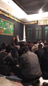 19 Safar Majlis e Aza at Imam Bargah Sher Gariyaan inside Mochi Gate Lahore. Reciter ( Allama Hussain Akbar )