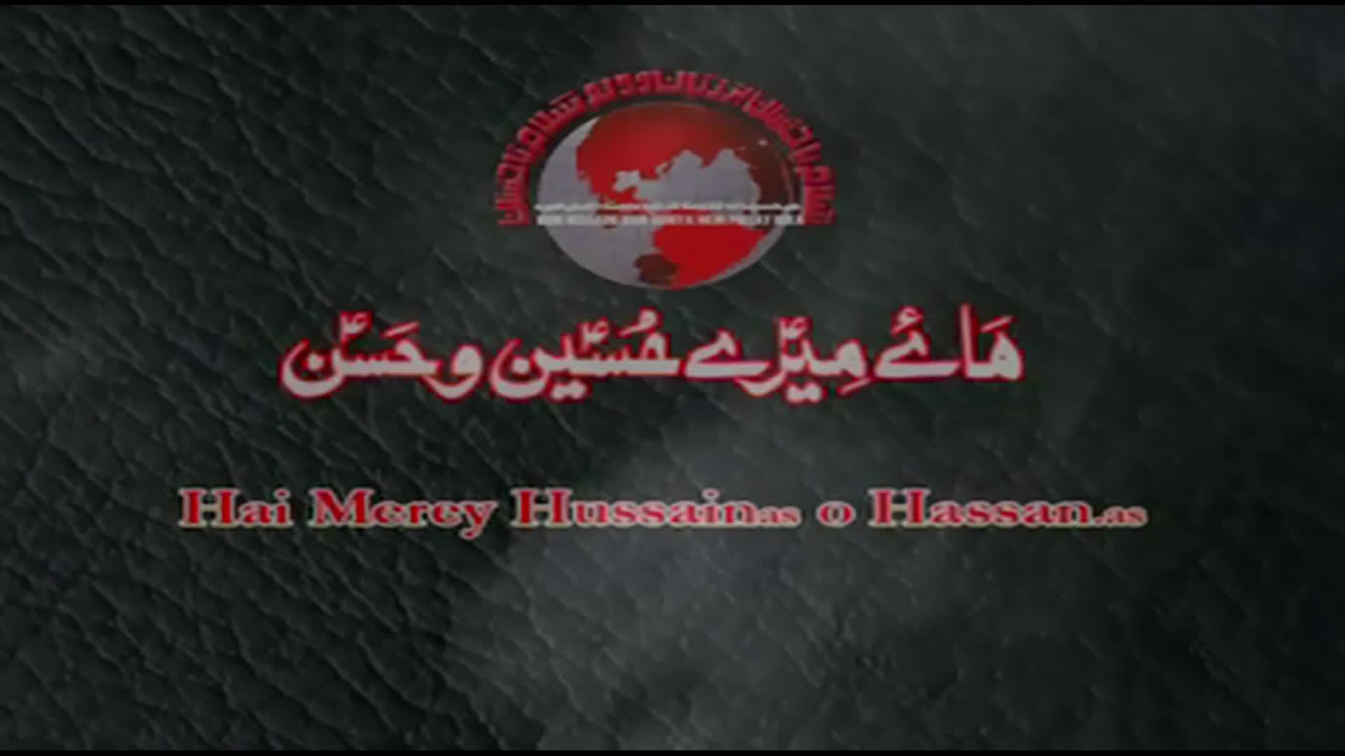 Haye Mere Hussain o Hassan