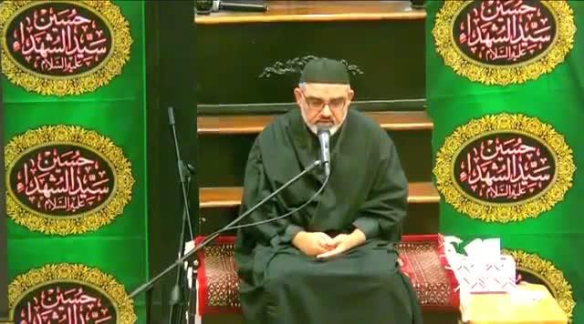 Muharram 7, 1438- Maulana Ali Murtuza Zaidi