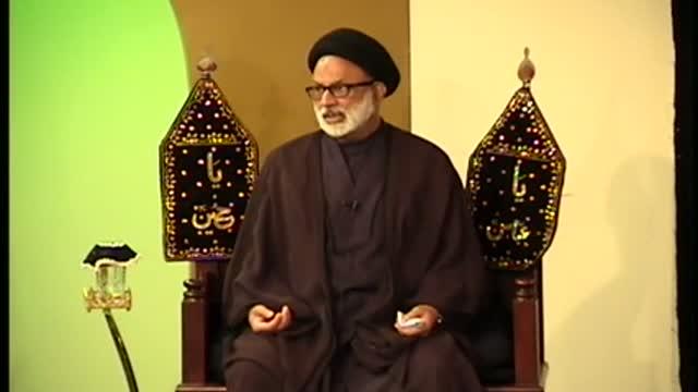 Muharram Majlis No2 Maqsad E Azadari HI Maulana Mohammad Askari