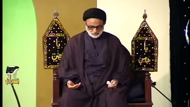 Muharram Majlis No3 Maqsad E Azadari H I Maulana Mohammad Askari