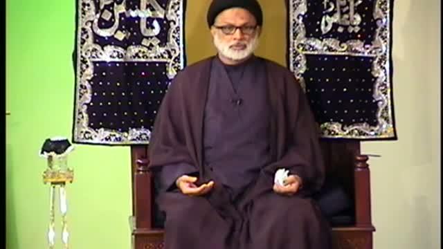 Muharram Majlis No7 Maqsad E Azadari HI Maulana Mohammad Askari