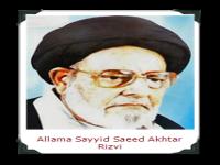Sayyid Saeed Akhtar Rizvi
